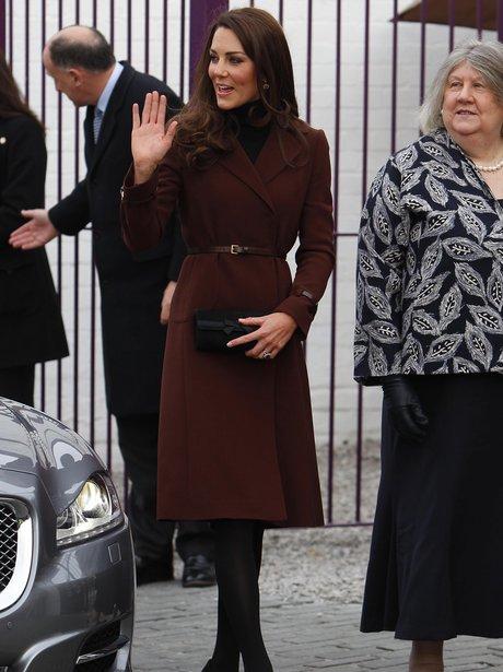 Duchess of Cambridge in Liverpool