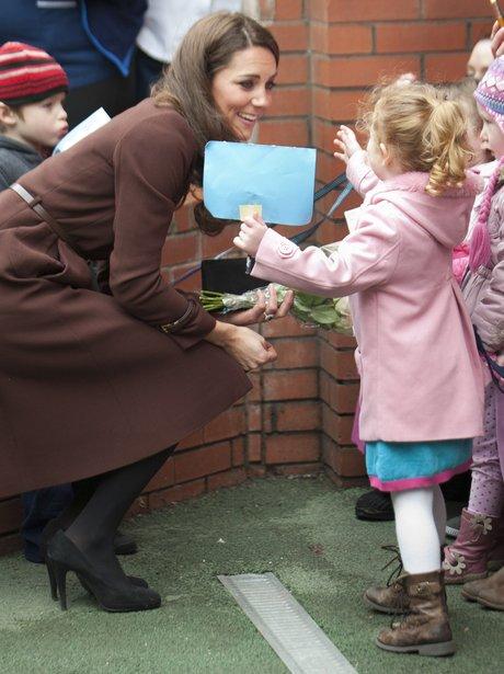 Kate Middleton visits Liverpool