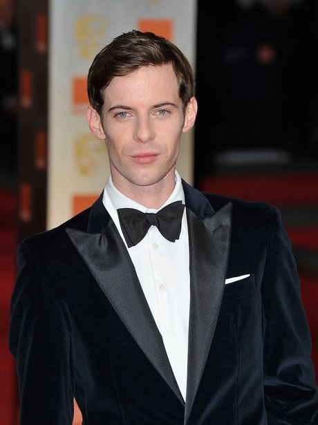 Luke Treadaway arrives at the BAFTAs 2012