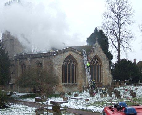 St Mary Church Fire