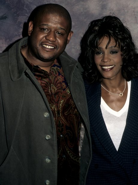 Whitney Houston and Forest Whitaker