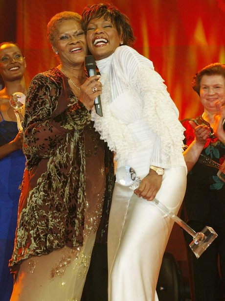 Whitney Houston and Dionne Warwick