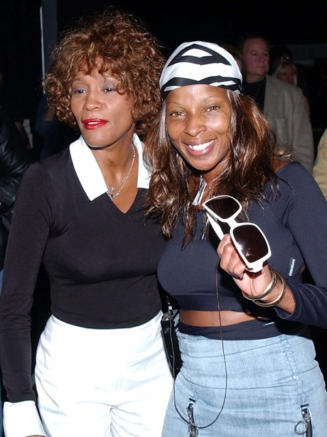 Whitney Houston and Mary J Blige