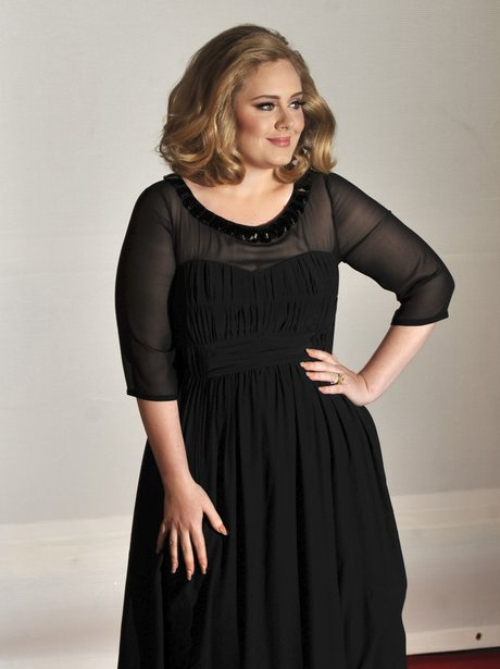 Adele arrives at the BRIT Awards 2012