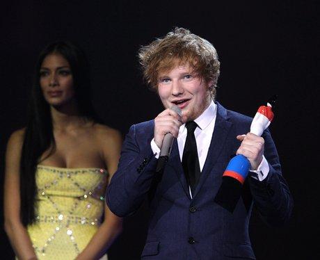 Ed Sheeran BRIT Awards 2012