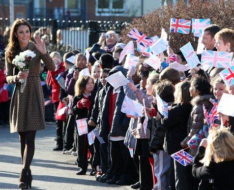 Kate Middleton Visits Oxford