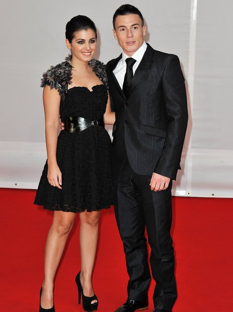 Katie Melua and James Toseland at the BRIT Awards