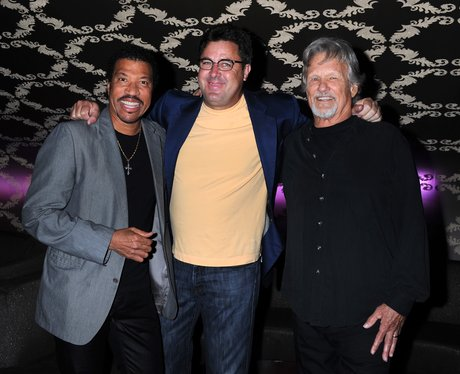 Lionel Richie and his celebrity friends