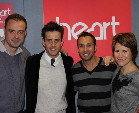 Jamie and Harriet are joined by New Kids On The Block's Joey McIntyre and Howie D from The Backstreet Boys