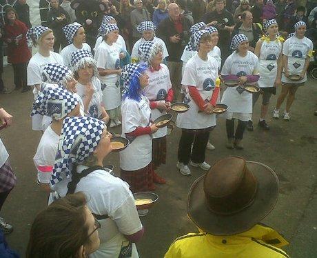 Olney Pancake Race 2012