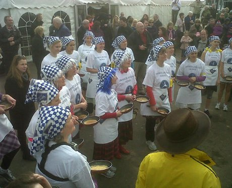 Olney Pancake Race 2012