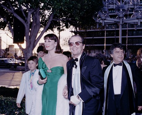 Jack Nicholson and Anjelica Huston 1986 - Oscars Fashion ...