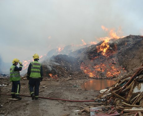 waste services fire