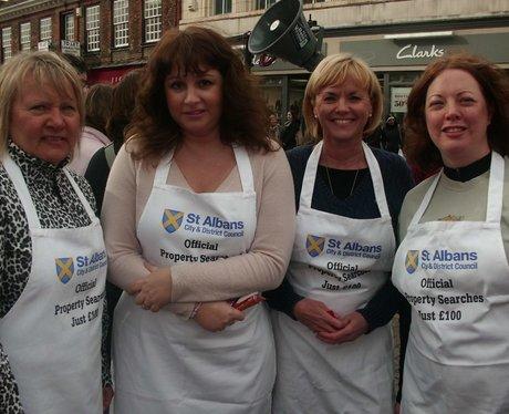 St Albans Pancake Day Race
