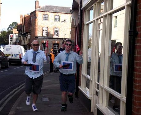 Wallingford Pancake Race