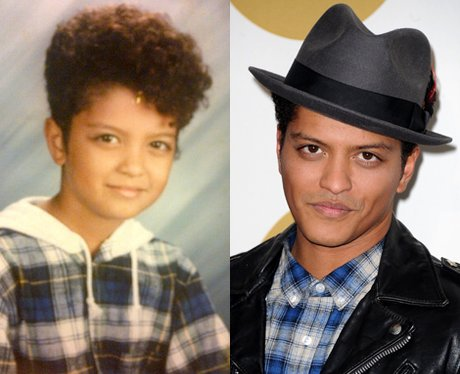 Bruno Mars baby picture