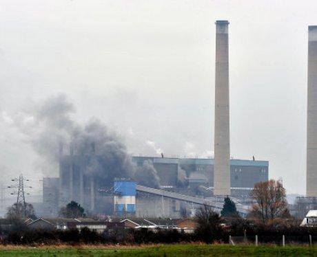 Tilbury Power Station Fire