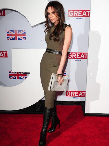 Victoria Beckham Pre Oscars Awards 2012