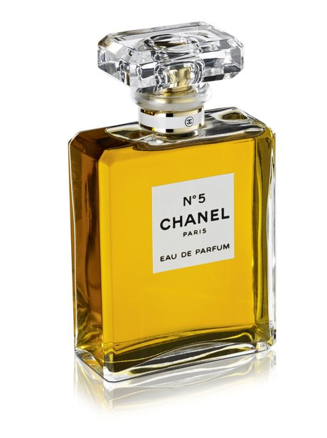A bottle of Chanel No. 5