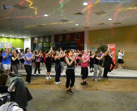Heart Hijacks Suzie's zumba in Oswestry