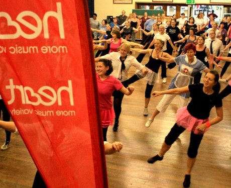 Heart hijacks Zumba Jen's class in Neston