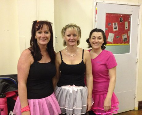 Heart hijacks Zumba Jen's class in Neston