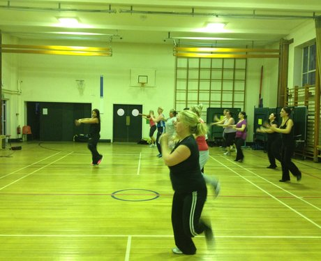 Heart hijacks Zumba with Lisa in Chester
