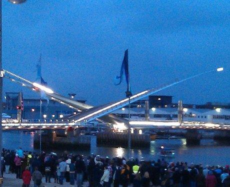 Twins Sails Bridge opens!