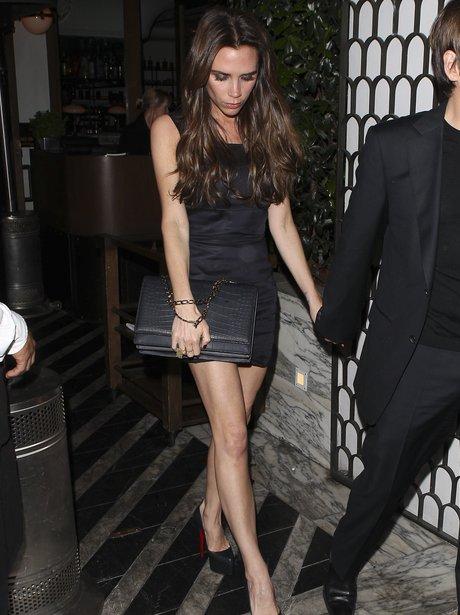 Victoria Beckham with Eva Longoria