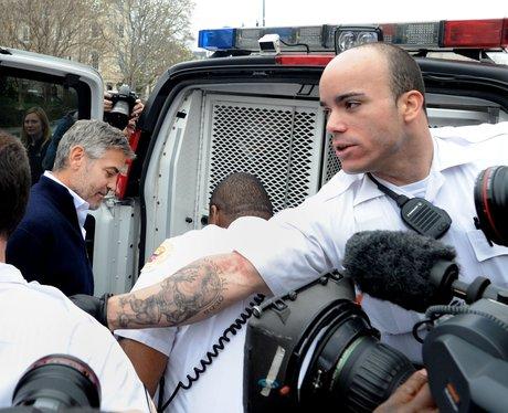 George Clooney gets arrested