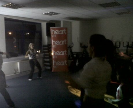 Heart hijacks Zumba with Elisha in Ellesmere Port