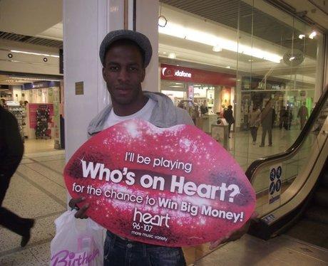Who's on Heart Cash Tracks Bracknell