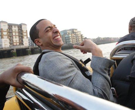 JLS on a boat