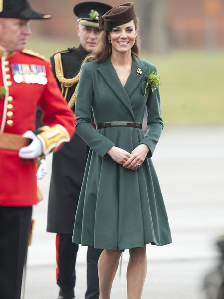 The Duchess of Cambridge on St. Patrick's Day