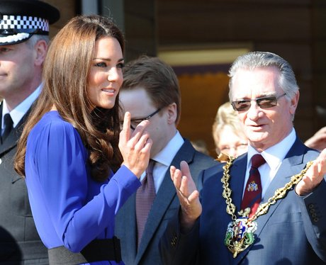 Duchess of Cambridge visits Ipswich