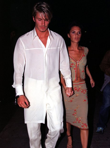 David And Victoria Beckham Through The Years Heart