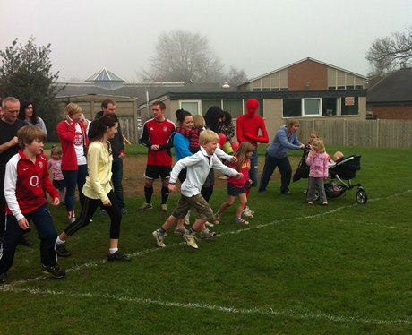 See all the pictures from the Olympic Fun Run at T