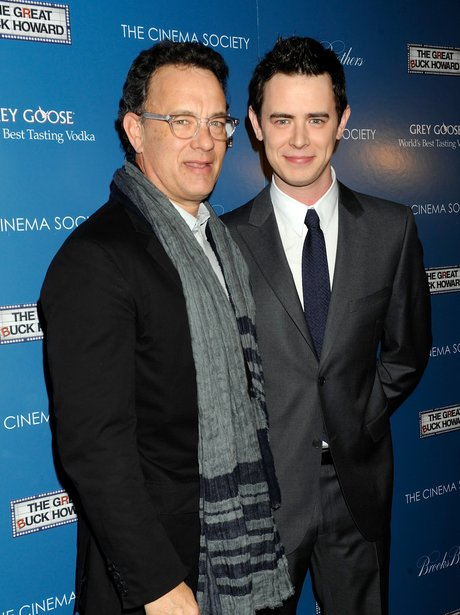 Tom Hanks and son