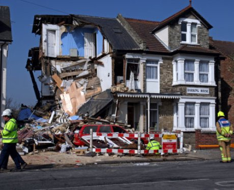 Clacton House Collapse