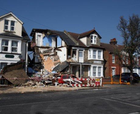 Clacton House Collapse