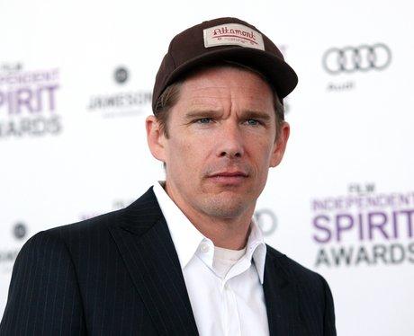 Ethan Hawke in a hat
