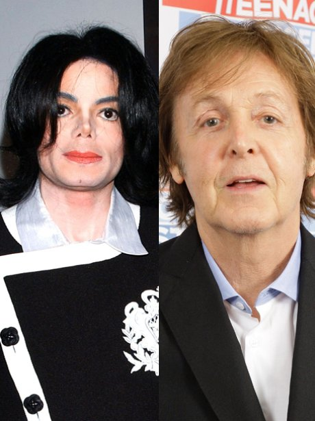 Paul McCartney And Michael Jackson The Girl Is Mine