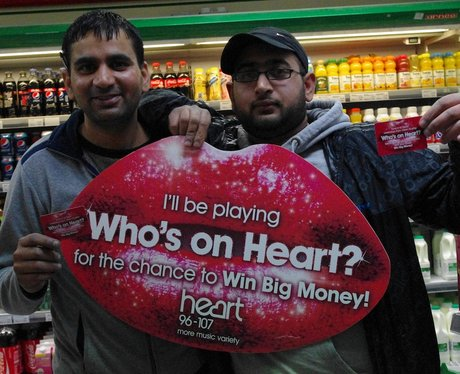 Who's on Heart Cash Cards