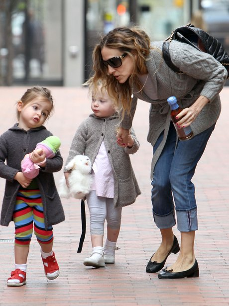 Sarah Jessica Parker with her children