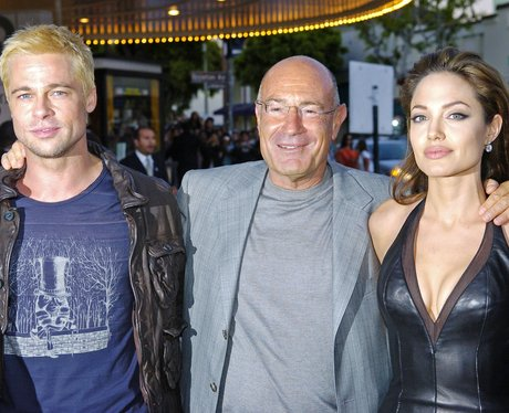 Brad and Angelina Arnon Milchan