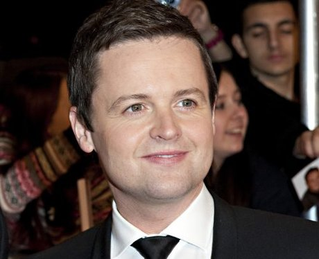 declan donnelly on the red carpet