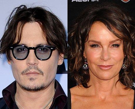 Johnny Depp and Jennifer Grey