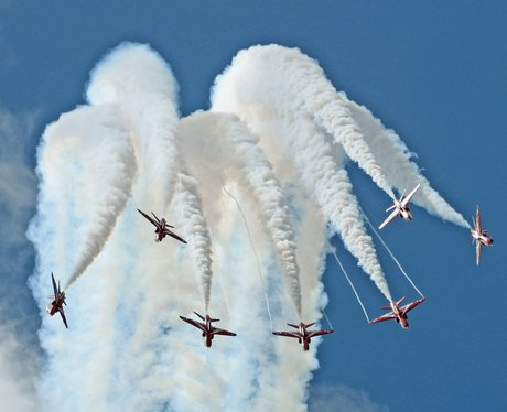 Red Arrows - Peter March