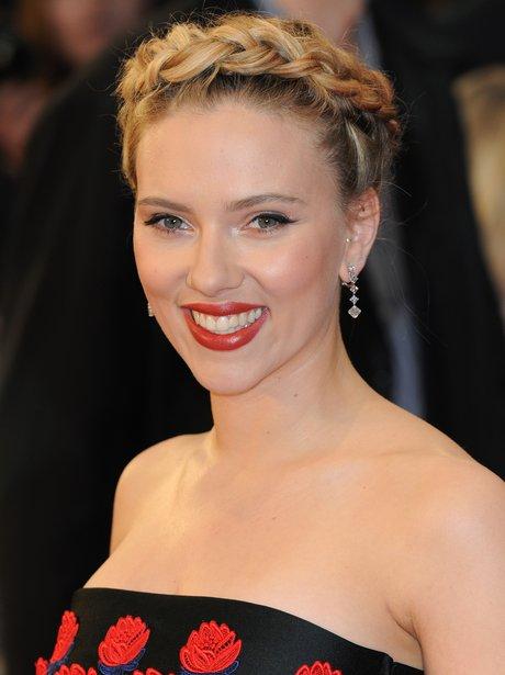 Scarlett Johansson at Marvel Avengers Assemble European Premiere