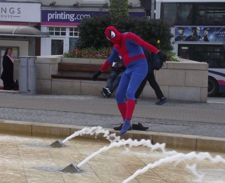 Spideyman's West Country Adventures